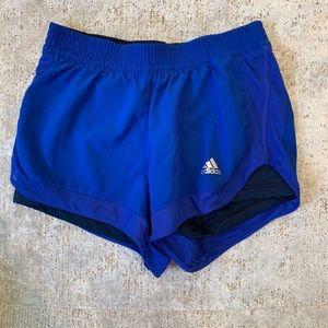 Adidas Short w/ compression short inside - XS